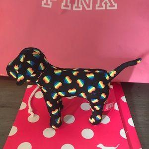 Victoria Secret Pink mini Pride dog 🌈